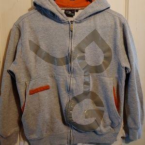 Zip up hoodie sweatshirt jacket